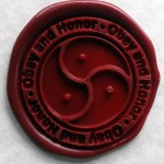 Obey and Honor Wax Seal
