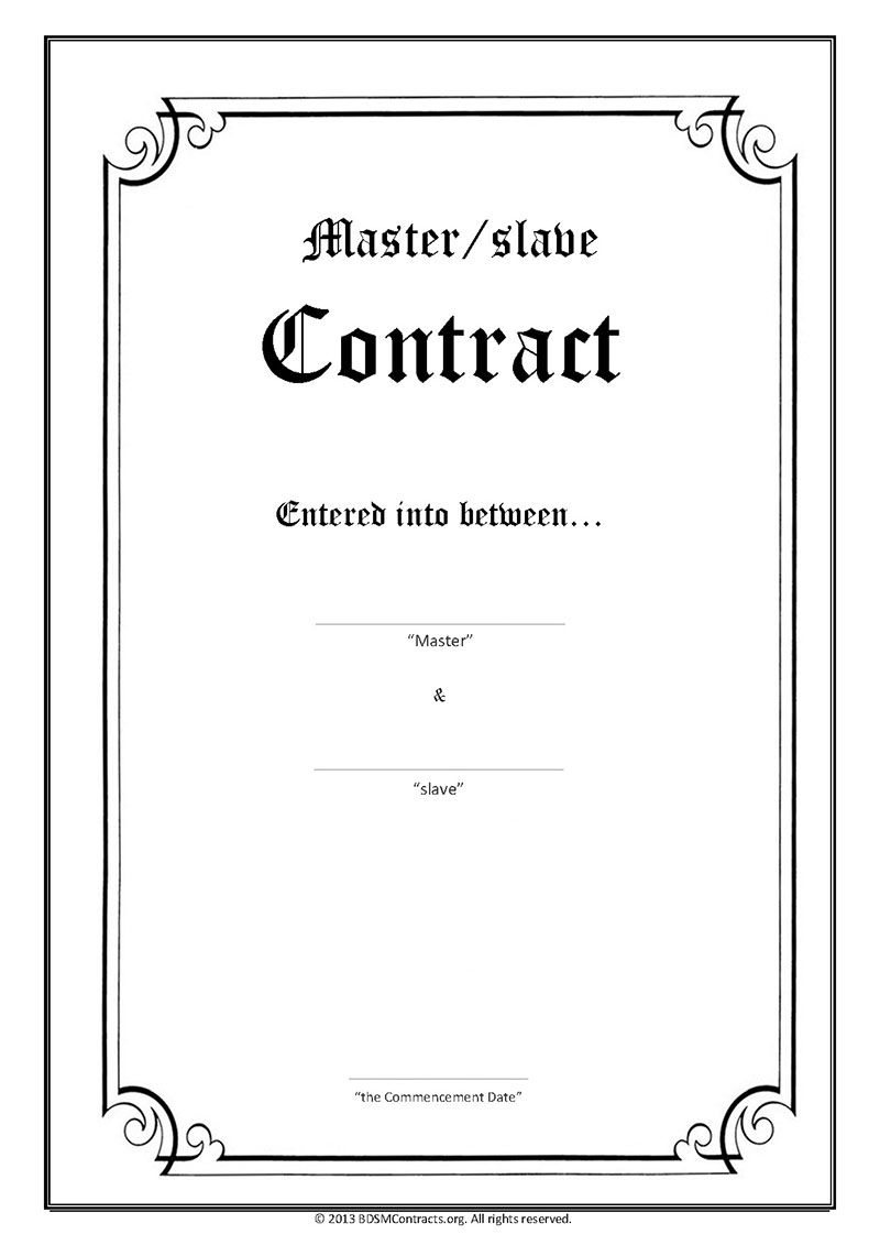 Master Slave Contract