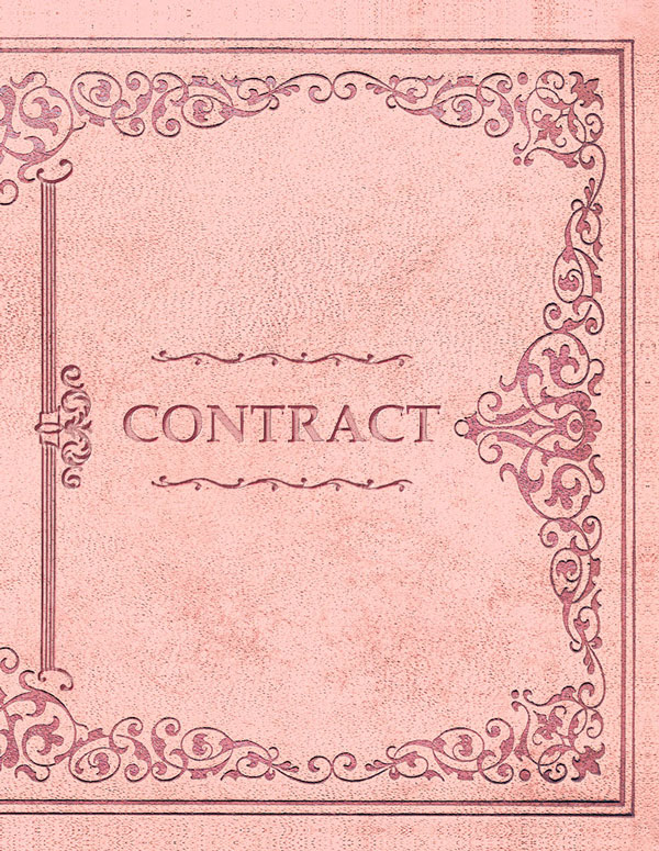 BDSM Contract Princess Pink Cover